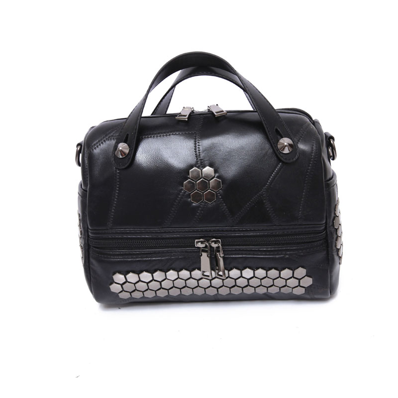 100% Genuine Sheepskin Women Leather Handbag Lady Bag Import Genuine Sheepskin Women Fashion Leather Handbag Casual Shoulder Bag