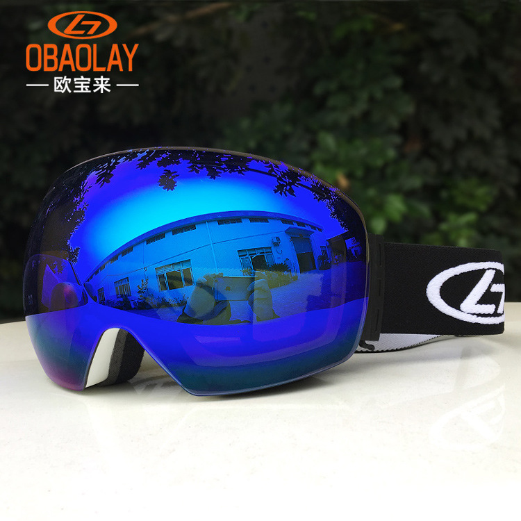 2019 New Style Ski Goggles, Snowboard Glasses Double Layers Uv400 Anti-fog Big Mask Men Women Winter Snow Snowmobile Gafas De Skiing Eyewear To Clear Out Annoyance And Quench Thirst
