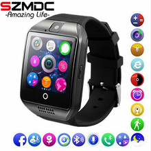 SZMDC Bluetooth Smart Watch Q18 Support Sim TF Card font b Phone b font Call Push