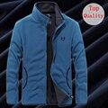 UNCO&BOROR new men`s Soft shell Fleece denim blue Hoodies Sweatshirt Men Hip Hop plus size L~7XL 8XL sporting Tracksuits hoody