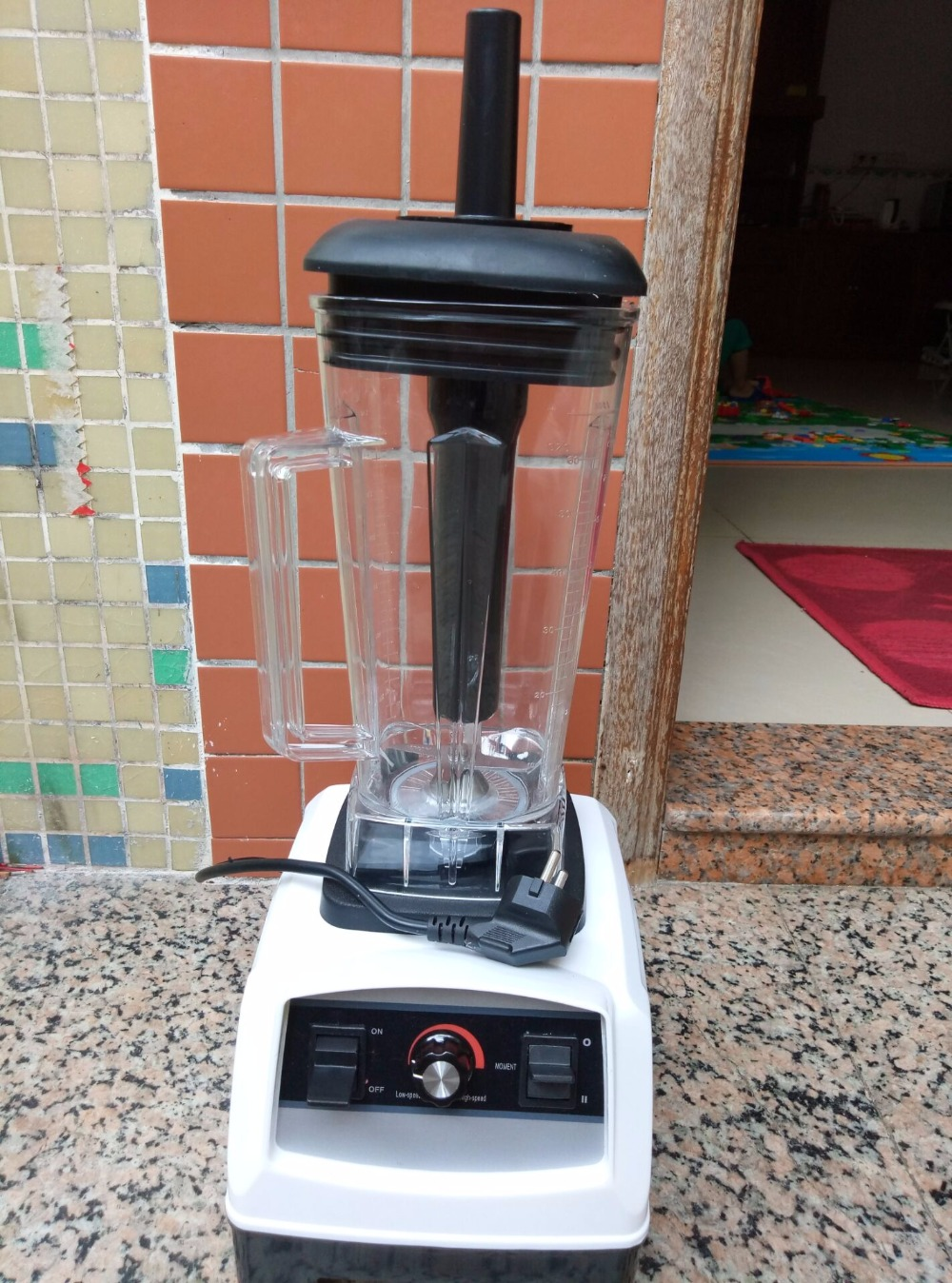 EU/UK/US/AU Plug 3HP BPA FREE commercial grade home professional smoothies power blender food mixer juicer food fruit processor 900w fruit mixer machine vegetable superfood blender processor juicer extractor free shipping