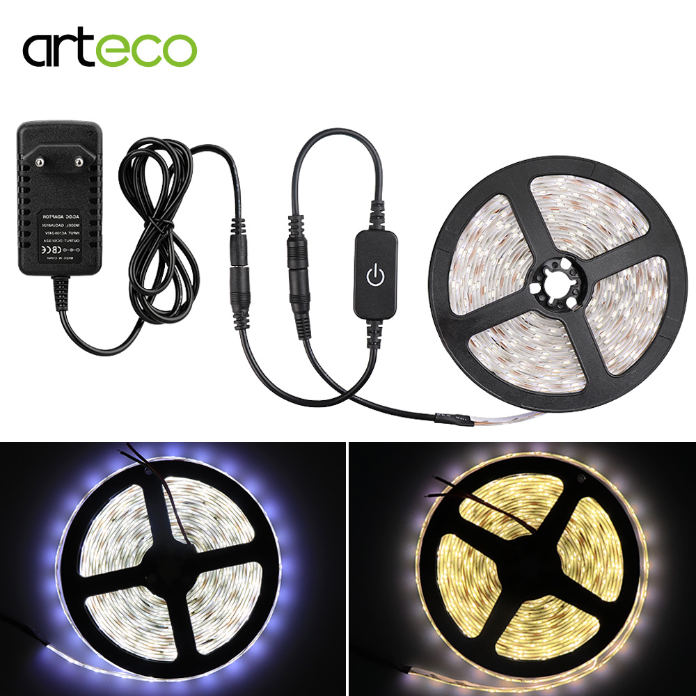 12V Led Strip Light Dimmable 2835 SMD iTOUCH Sensor Control IP65 Flexible Strip Waterproof 1M 2M 3M 4M 5M Sensor Light Bed Light12V Led Strip Light Dimmable 2835 SMD iTOUCH Sensor Control IP65 Flexible Strip Waterproof 1M 2M 3M 4M 5M Sensor Light Bed Light
