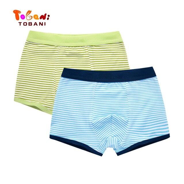 boys panties children underwear  triangle pure cotton boys underpants angle boys underpants baby shorts Tobani 2pcs 5