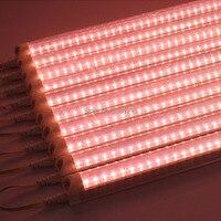 Полный спектр привело светать трубки светодиодные лампы для растений гидропоники системы Крытый парниковых цветок аквариум светодиодные ...