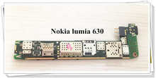 цены Russia language Original Motherboard For Nokia lumia 630 RM-978 dual sim Free shipping