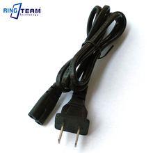 Free Shipping USA Power Cord 2 Flat Pins for Netbook Laptop