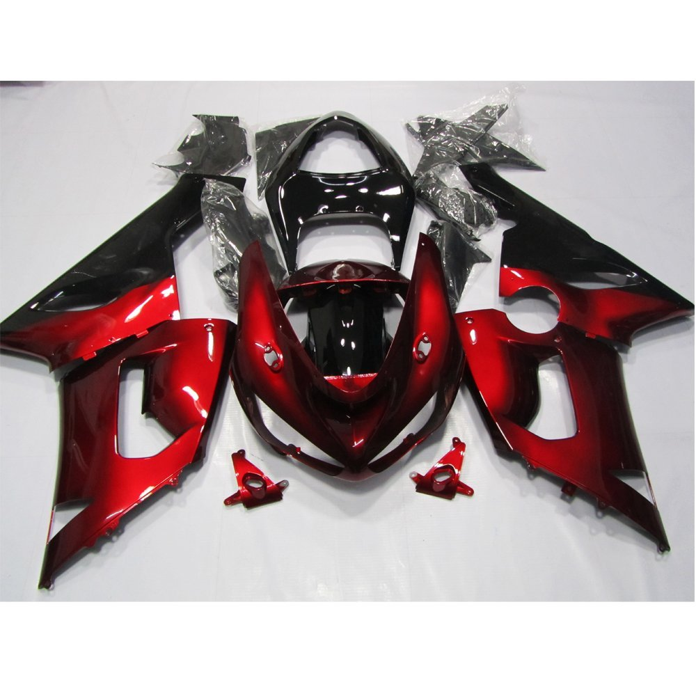 Motorcycle Injection Molding Fairing Kit Bodywork For Kawasaki ZX6R ZX-6R 636 2005 2006 ZX 6R ZX636 05 06 Red Fairings Frame Set hot sales for kawasaki ninja kit zx6r 09 10 11 12 zx 6r 636 zx636 2009 2012 zx 6r motorcycle fairings parts injection molding