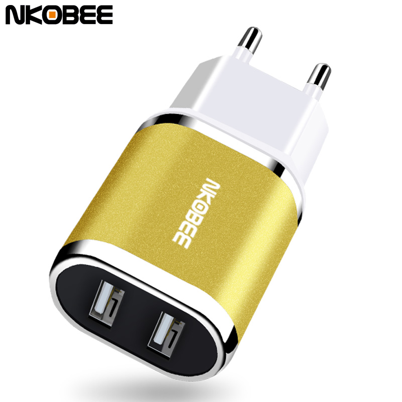 NKOBEE USB Charger 5V 2.4A For Samsung S8 Charger USB Adaptes