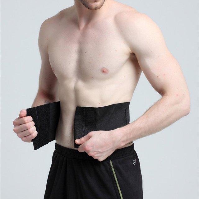 New Adjustable Waist Tummy Trimmer Slimming Sweat Belt Fat Burner Body Shaper Wrap Band Weight Loss Burn Exercise quemador de gr 1