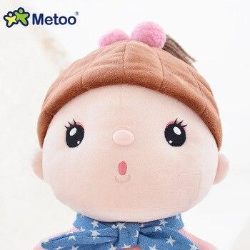 Мягкая плюшевая мультяшная девочка Metoo 4