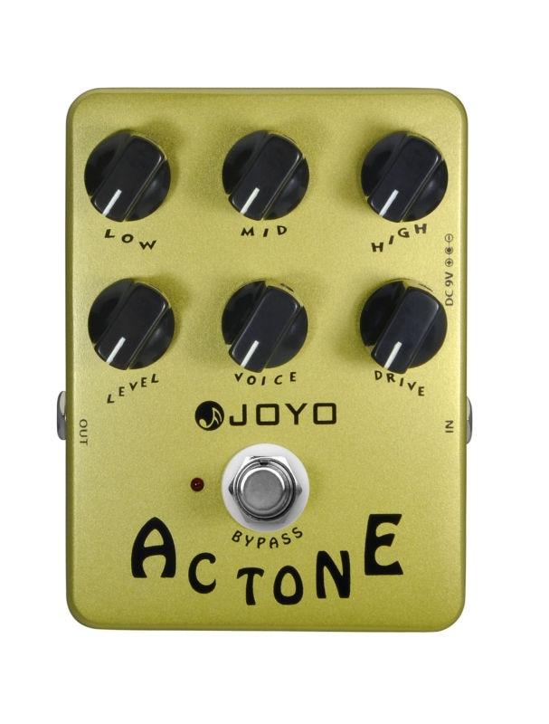 Joyo JF-13 AC Tone Classic British Sound Electric Guitar Effect Pedal True Bypass