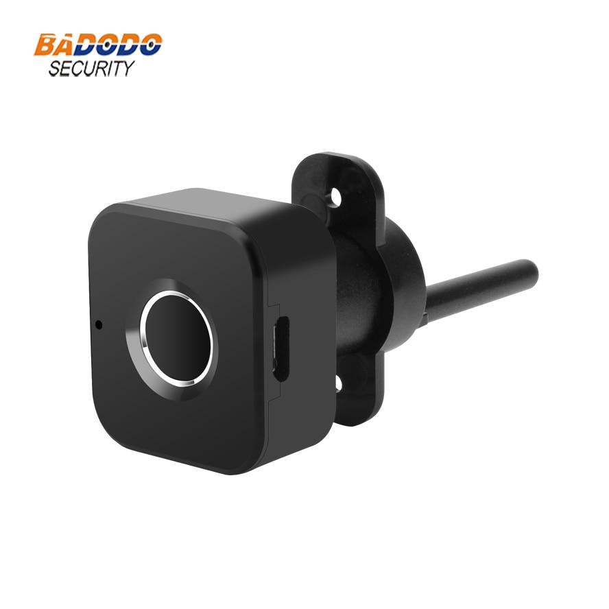 Image 4 - Smart keyless Fingerprint cabinet Lock biometric electric lock for office drawer file cabinetElectric Lock   -