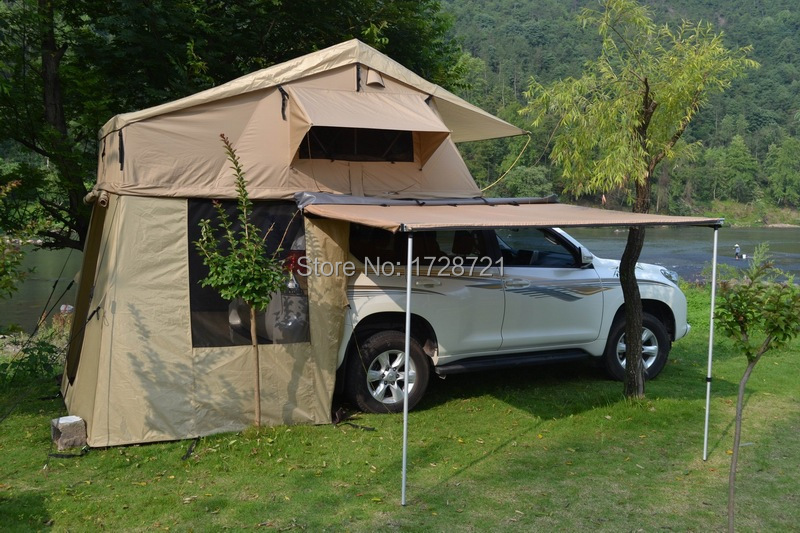 Thickening Sun proof and Leak proof Outdoor C&ing Tent for Car-in Tents from Sports u0026 Entertainment on Aliexpress.com | Alibaba Group & Thickening Sun proof and Leak proof Outdoor Camping Tent for Car ...