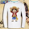 Мужская с длинным рукавом аниме 3D футболка хип-хоп мужчины - смешно тенниска мультфильм графический рубашка одна часть майка