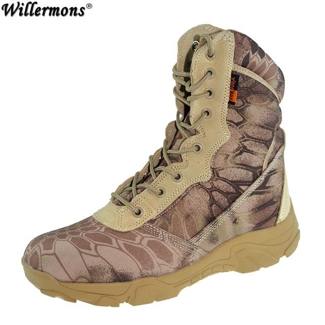 c55c75f9 2017 letnie męskie na zewnątrz oddychające bojowe armii buty trekingowe  mężczyźni kamuflaż wojskowy taktyczne buty trekkingowe