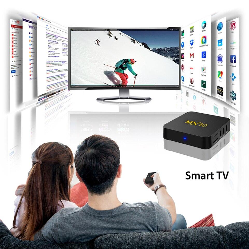 MX10 Arabic France IPTV Subscription 4+64G Android 8.1 RK3328 QHDTV 1 Year IPTV Netherlands Belgium Italian Algeria IP TV Box (4)