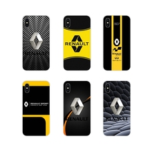 Accesorios fundas de teléfono cubre Renault S. los anuncios de logotipo para Motorola Moto X4 E4 E5 G5 G5S G6 Z Z2 Z3 G G2 G3 C jugar más