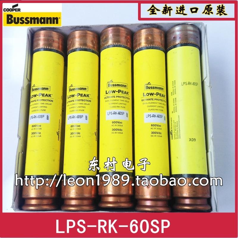 US BUSSMANN fuse LPS-RK-40SP LPS-RK-50SP LPS-RK-60SP 600V игрушка lps зверюшка и ее малыш в ассортименте hasbro lps