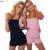 HAOYUAN Verão Rompers Womens Jumpsuit 2017 2 Cores Fora Do Ombro Bandage Bodycon Jumpsuit Playsuit Macacão Sexy Bodysuit Mulher