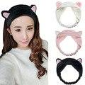 1 PCS Cute Womens Girls Cute Cat Ears Headband Hairband Hair Head Band Party Gift Headdress Hair Accessories Makeup Tool