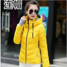 New style Spring Autumn Winter Jacket Women Coats hooded Female Parka Thick Cott
