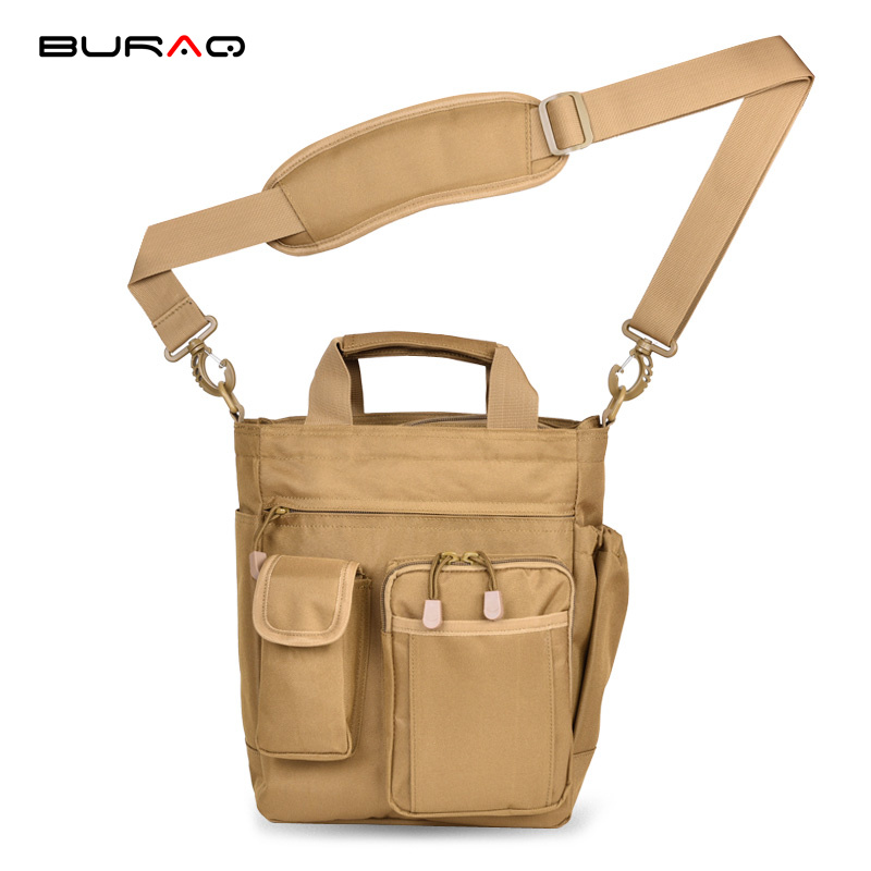 Camping & Hiking Sports & Entertainment Burraq Camouflage Nylon Waterproof Shoulder Bag Cross Body Belt Sling Messenger Bag Tactical Military Camouflage Handbag