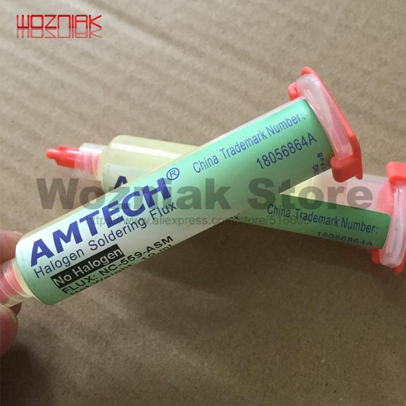 100% Original AMTECH NC-559-ASM BGA PCB No-Clean Solder Paste Welding Advanced Oil Flux Grease 10cc Soldering Repair Tools