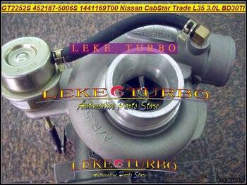 Livre o Navio 14411-69T00 GT2252S 452187 709693-0001 452187-5006 S 452187-0006 Turbo Para Nissan CabStar Comércio m100 L35 BD30TI 3.0L