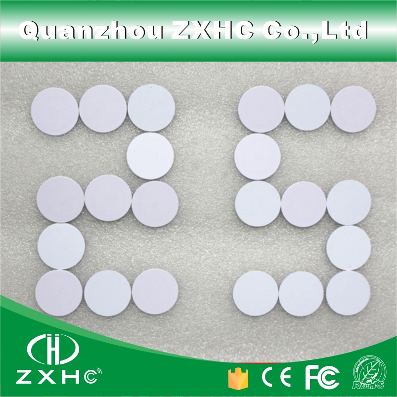 (1000pcs/lot) Waterproof 25mm x 1mm RFID 125KHz Tag PVC Coin Card with ID TK4100 (compatible EM4100) Read-only free shipping 1000pcs lot factory price cmyk customized printing pvc combo card die cut key tag with qr barcode