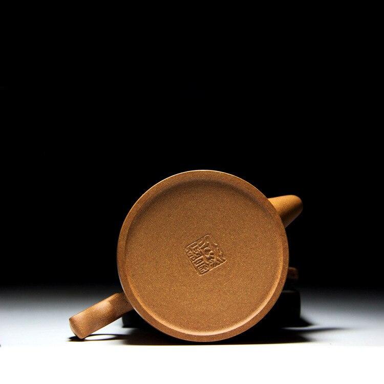 Célèbre famille fait à la main qualité brut Mine pente boue Hanwa anneau violet sable Pot Kungfu Teaware Set cadeau personnalisation - 4