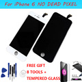 Grade AAA Para iPhone6 Tela Lcd de 4.7 polegada w/Touch Screen Digitador Assembléia Vidro Original + Ferramentas + Vidro temperado