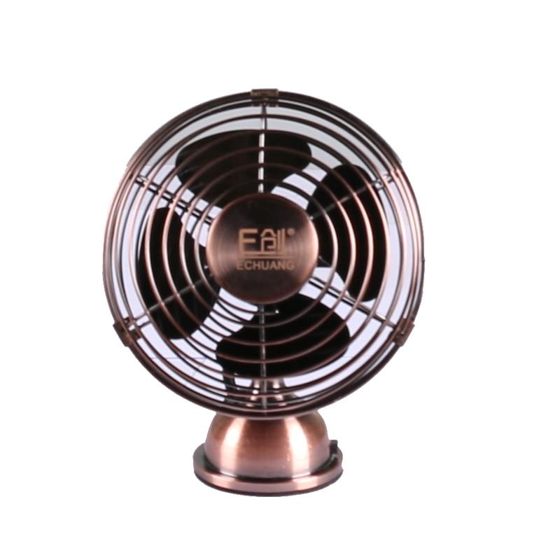 High quality mini retro usb dc 5v fan 12 5 15 5 6cm in for 12v dc table fan price