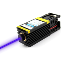 oxlasers 3000mW 3..5W 12V 450nm 3P focusable blue Laser Module DIY Laser Engraving Machine Part Laser Cutting Head with TTL PWM