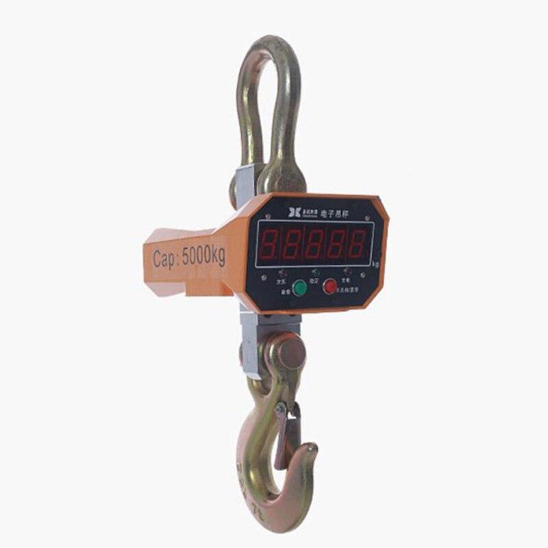 1000KG High precision Aluminum Digital Industrial Crane Scale heavy Duty Hanging