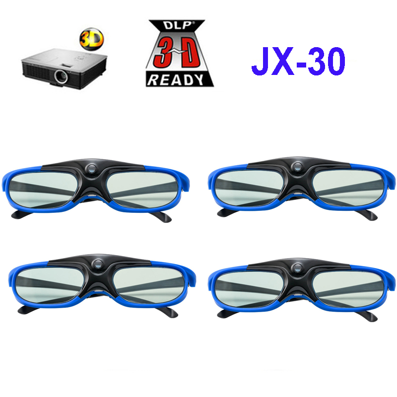 Rechargeable Active Shutter 144HZ 3D Glasses For Xgimi BenQ Acer Optoma ViewSonic PJD5155 PJD5233 PX702HD All
