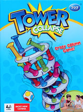 1 Set Tower Collapse Board Games For Kids Crazy Column Boom Boom Family Game Children Birthday Party Supplies Kid Toys Best Gift(China)