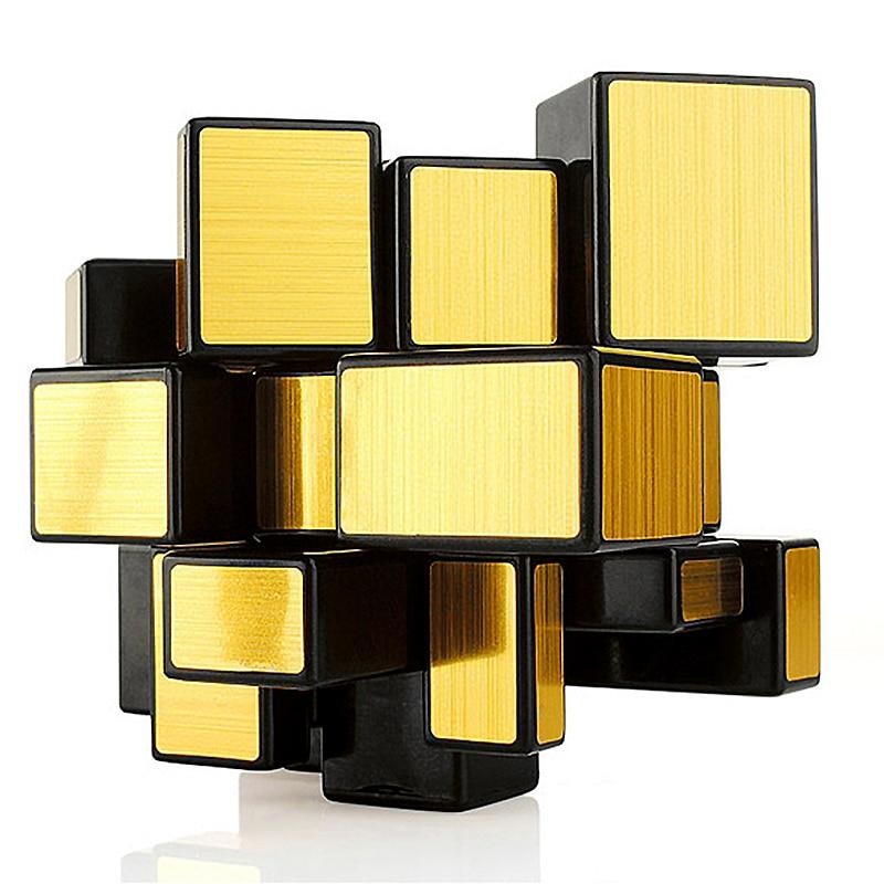 Qiyi profissional espelho cubo velocidade para quebra-cabeça cubo 3x3x3 magico cubo antiestresse brinquedo neo cubo para crianças educação precoce brinquedos