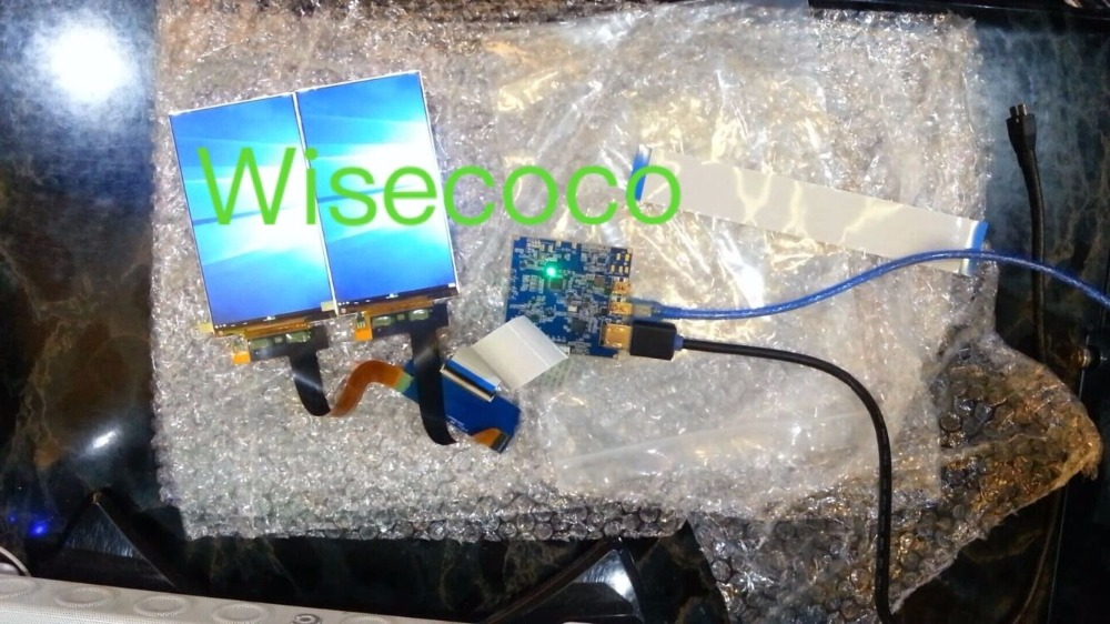 5 5 inch 2560 1440 2K LS055R1SX03 dual LCD Screen HDMI board For VR Headset Glass