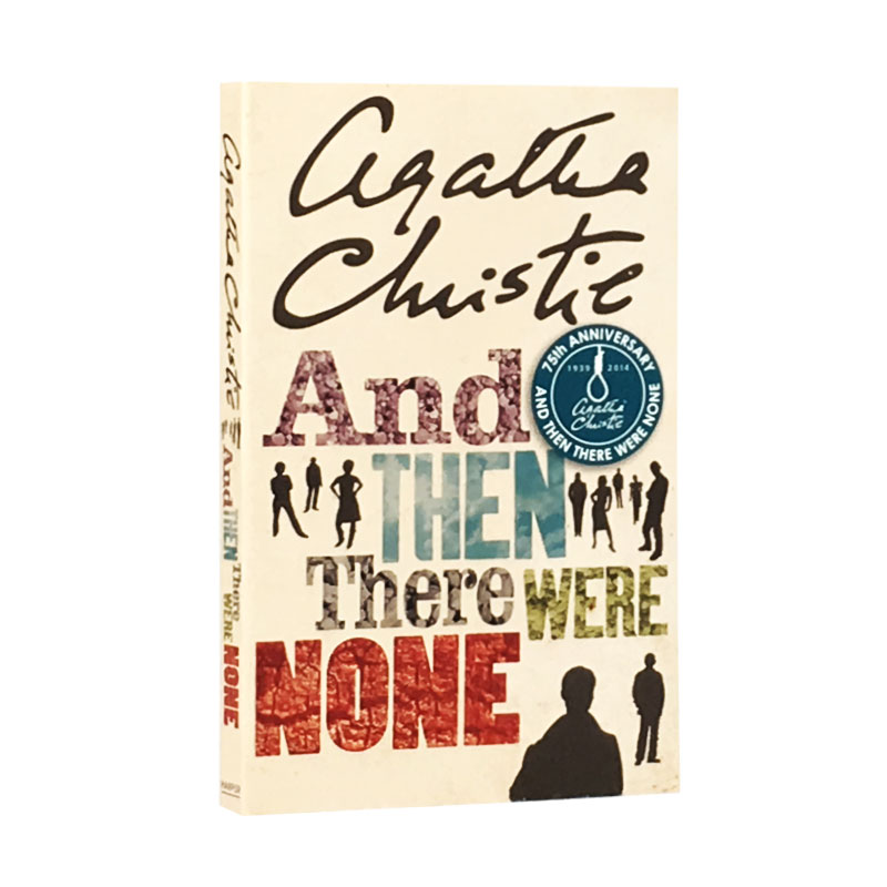 New Hot And Then There Were None English Fiction Book For Adult Children