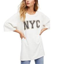 Germinate Oversized Vintage T Shirt Women Summer Aesthetic Grunge Vegan Retro Punk Gothic Streetwear Baggy Long Tops Plus Size