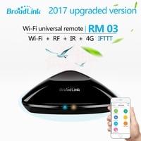 2017 RM03 Broadlink RM pro + RM3 Pro Otomasyonu Akıllı Ev WIFI + IR + RF + 4G Akıllı iOS Android için evrensel Uzaktan Kumanda