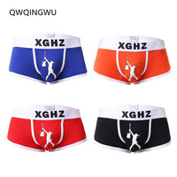 4PCS/Lot Underwear Boxer Men Breathable Cotton Men Boxers Male Underpants Sexy Panties Cotton Mens Bodysuit Trunks Pants Boxers