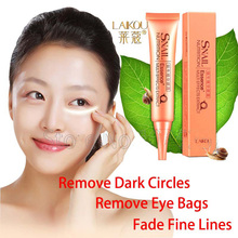 Snail Stock Solution Essence Remove Dark Circles Eye Bags Ageless Moisturizing Anti-wrinkle Firming Eye Cream