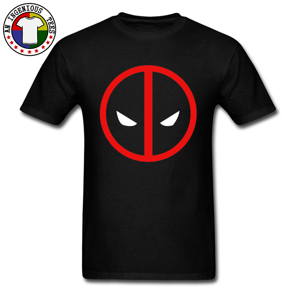 Red Superman Dead Pool Face Mask T Shirts Marvel Deapool Men April FOOL DAY Pure Cotton 2019 New Fashion Leisure Top T-shirts