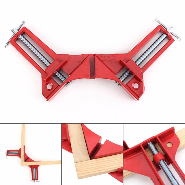 4 Inch 90 degree Right Angle Clamp Picture Frame Corner Clamp 100MM ...