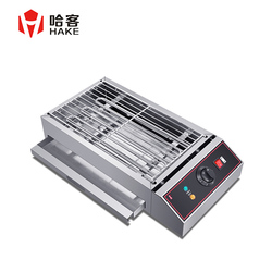 WX-280 Stainless Steel Multifunctional Roasting Machine Electric Smoke-free Grill &griddle Commercial Barbecue Stove Baking Tool