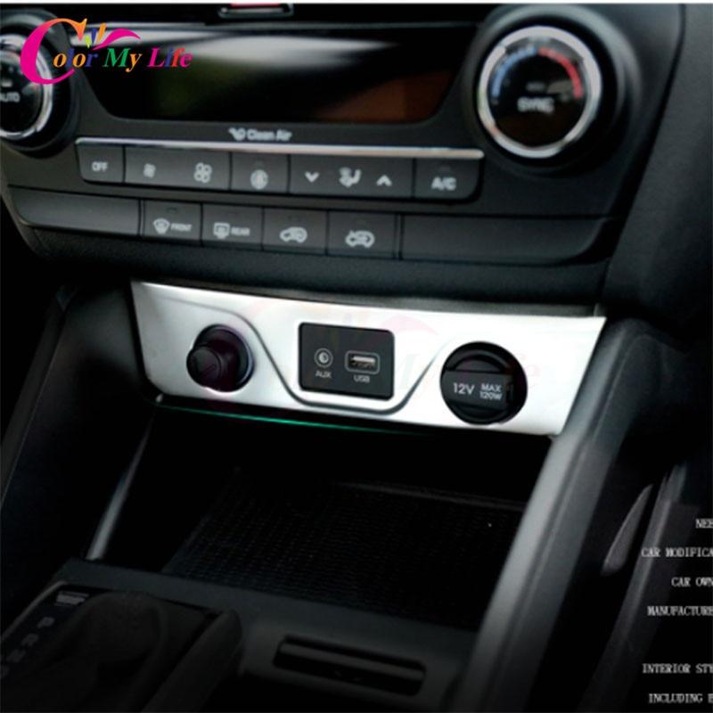 1 Pezzi In Acciaio Inox Car Accendisigari Decorazione Trim Copertura - Accessori per auto interni