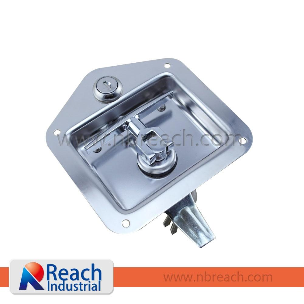 Truck Tool Box Locks >> Stainless Steel Folding Garage Door T Handle Lock T Handle