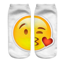 New Arrival Funny 3D Emoji Women Socks – FREE + Shipping