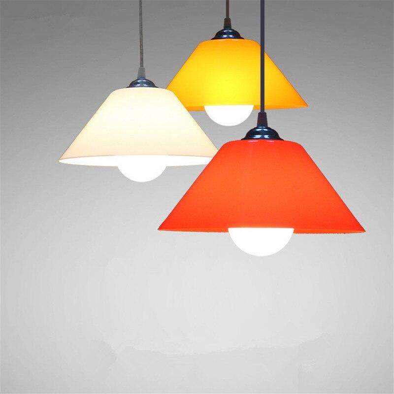 Moderne Runde Hängen Lampen Einfache Acryl Anhänger Lichter Restaurant  Wohnzimmer Dekoration Schlafzimmer Studie Kleidung Shop Lampen